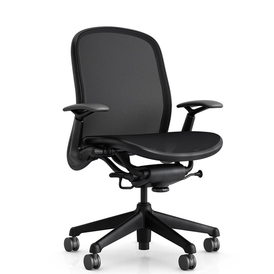 Chadwick di knoll sedia design ufficio ergonomica in rete for Sedie design knoll
