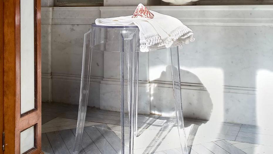 Charles ghost sgabello di kartell design philippe starck